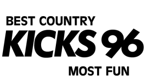 Kicks 96 logo.