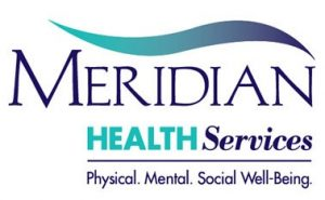 Meridian Health Services logo.