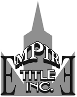 Empire Title Inc. logo.